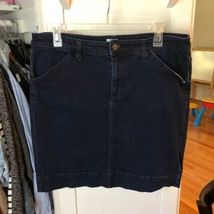 Dresses & Skirts - Classic Deep Navy Jean Skirt